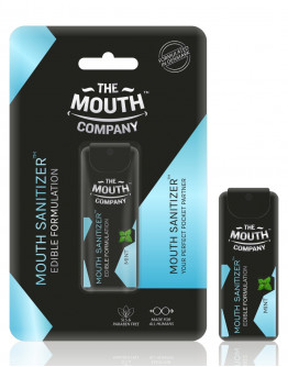 World's First-Ever - Mouth Sanitizer Spray I The Mouth Company