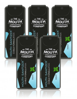 World's First-Ever - Mouth Sanitizer Spray I The Mouth Company - Pack of 5