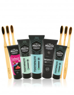 The Mouth Company Premium Oral Care Mega Gift Pack