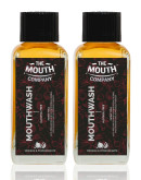 The Mouth Company Meswak & Pomegranate Mouthwash (Alcohol Free) pack of 2 - 100ml