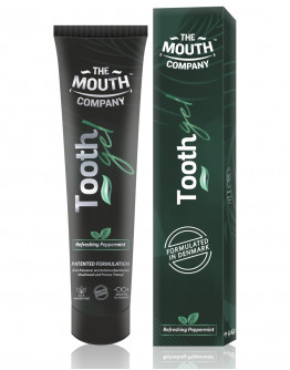 The Mouth Company Refreshing Peppermint Toothgel Pack of 2  - 20gm