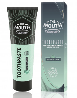 Toothpaste Herbal Mix 75g - Pack of 2