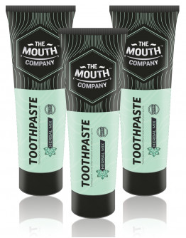 Toothpaste Herbal Mix 75g - Pack of 3