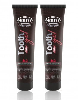 The Mouth Company Meswak & Pomegranate Toothgel pack of 2 - 20gm