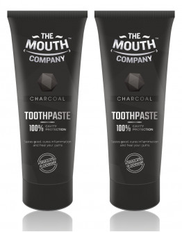 Toothpaste Charcoal 75g - Pack of 2
